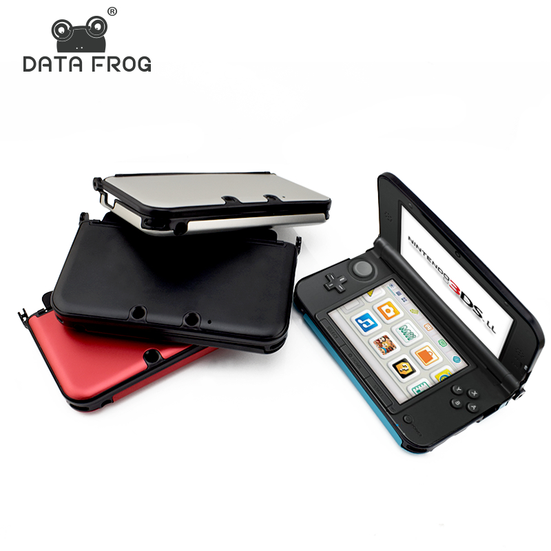 Data Frog Hard Protective Case Cover For Nintendo 3DS XL/LL Replacement Full Housing Shell For 3DS Cases Free Shipping