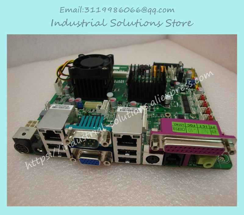Gigabyte Atom D525 6com lvds Dc12v Pos Industrial Motherboard New Arrival 100% tested perfect quality atom d525 itx d525 2com industrial motherboard bt pos training e3001 e2011 100% tested perfect quality