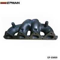 For Honda Civic D16Y D SERIES T3 / T25 Jdm Iron Cast Turbo Engine Exhaust Manifold Header EP EM09