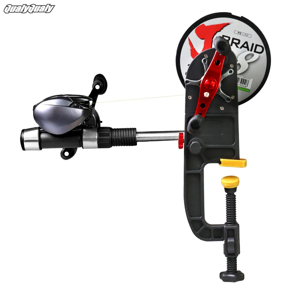 Multifunctional Fishing Line Winder Reel Stable Fishing Line Spool Spooler System Tackle Fishing Reel Accessories Tool