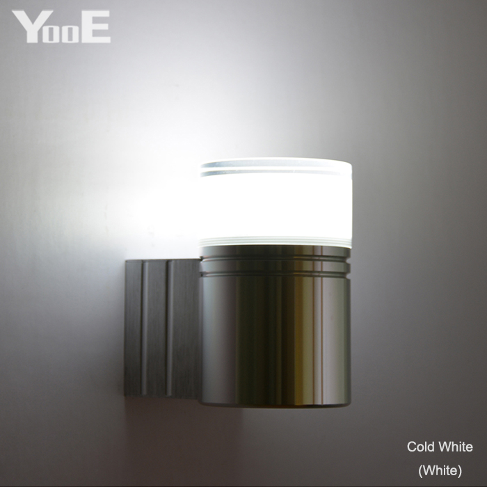 Led Indoor Wall Lamps Led Lamps Delicious Yooe 3w Cob Indoor Led Wall Light Acrylic Aluminum Material Wall Sconce Lighting Ac110-220v Bedroom Warm/cold White Wall Lamp