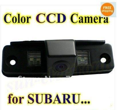 imágenes para Promoción color CCD Del Revés Del Coche de Visión Trasera Cámara de reserva del estacionamiento del rearview Para SUBARU Outback Forester/Impreza Sedan