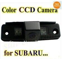 Promoción color CCD Del Revés Del Coche de Visión Trasera Cámara de reserva del estacionamiento del rearview Para SUBARU Outback Forester/Impreza Sedan