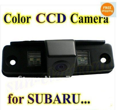 Promotion color CCD Car Reverse Rear View backup Camera parking rearview For SUBARU Outback Forester / Impreza Sedan