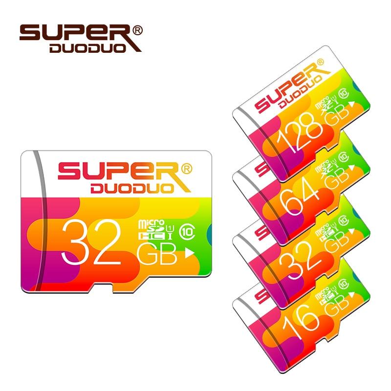 Бесплатная адаптер карты памяти 16 ГБ 32 ГБ 64 ГБ 128 ГБ Micro SD Card Class 10 карты памяти 8 ГБ 4 ГБ Mini Card microsd usb flash флешки