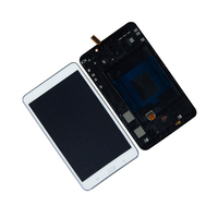 Display lcd para samsung galaxy tab t230nt SM T230NU t230 display lcd tela de toque digitador assembléia painel com quadro|touch screen digitizer|samsung galaxy tab display|tablet lcd display -