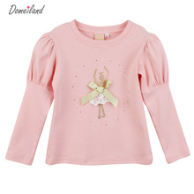 2017 spring fashion brand Domeiland lace children clothing for cute kids girls Ballet cotton ruffle bottoming