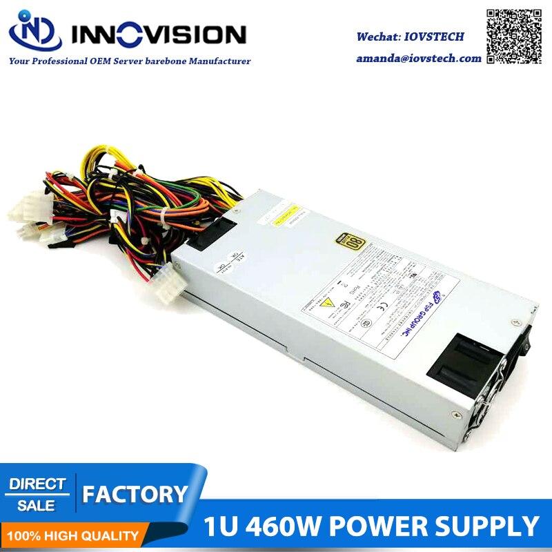 Haute efficacité FSP GPOUP INC. 1U 460 W serveur alimentation ordinateur poste de travail pc psu