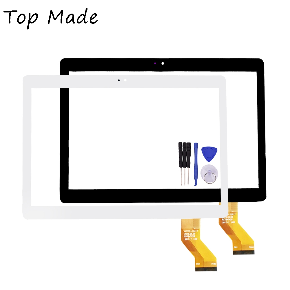 New 10.1 Inch for MTCTP-10617 Tablet PC Touch Screen Panel Digitizer Sensor Repair Replacement Parts Free Shipping new 8 inch case for lg g pad f 8 0 v480 v490 digitizer touch screen panel replacement parts tablet pc part free shipping