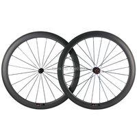 50 مللي متر الفاصلة عجلات الكربون 25 مللي متر عرض U شكل الطريق الدراجة عجلات الكربون et T700 ألياف الكربون الصينية