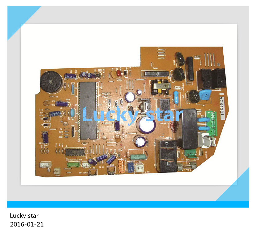 95% new for panasonic Air conditioning computer board circuit board A741331 good working купить