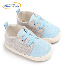 Mother Kids Baby Shoes First Walkers Newborn Boy Spring Autumn Infant Cotton Crib Soft Sole