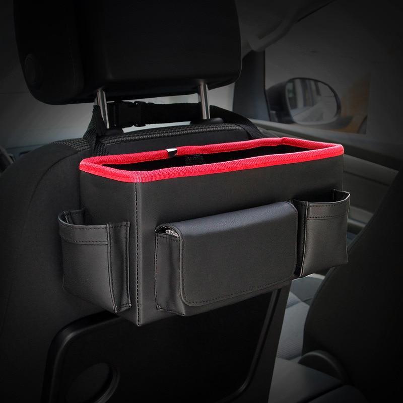 Auto achterbank Opvouwbare draagbare opbergbox Multi-Use Auto - Auto-interieur accessoires - Foto 1