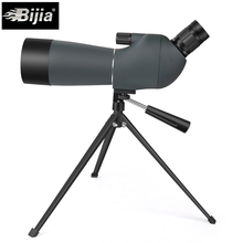 BIJIA 20-60x60 spoting scope bird watching monocular BAK4 prism waterproof HD zoom telescope with tripod t k excellent practical tool box screws storage black simple portable tool storage box self tapping screws device plastic 1pcs