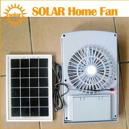 Buy Outdoor Lighting Solar Panel Powered Room Fan Rechargeable Sun Cell Window
