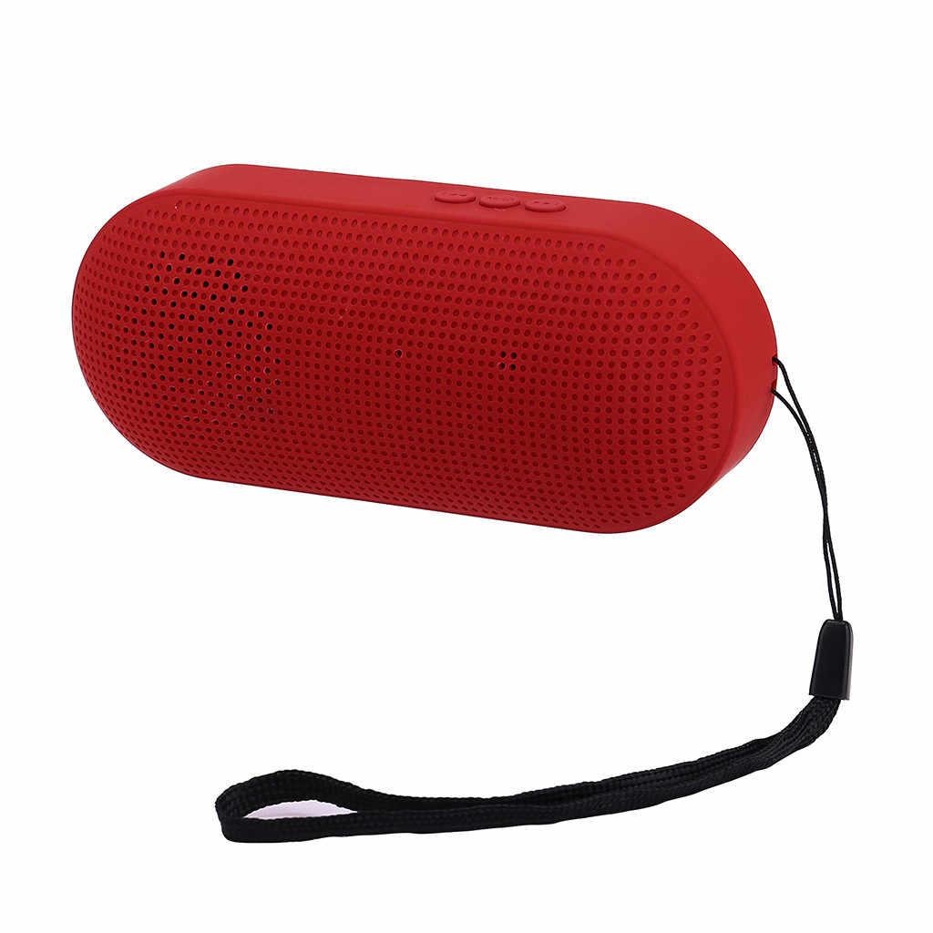 BEHATRD Mini Altavoz Bluetooth inalámbrico portátil Bluetooth sistema de sonido estéreo SD para el teléfono inteligente de la tableta PC # y4
