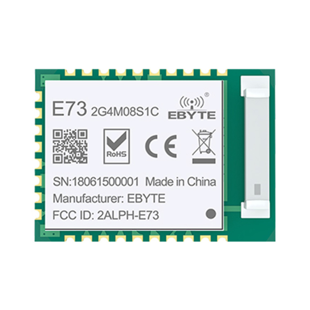 NRF52840 Bluetooth 5.0 RF Transceiver 8dbm Ceramic Antenna 2.4 GHz Transmitter And Receiver Bluetooth Module