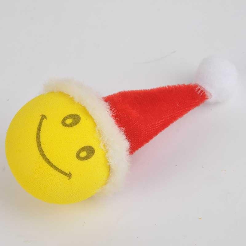 Mayitr Weihnachten Smiley Gluckliches Gesicht Weihnachtsmann Auto