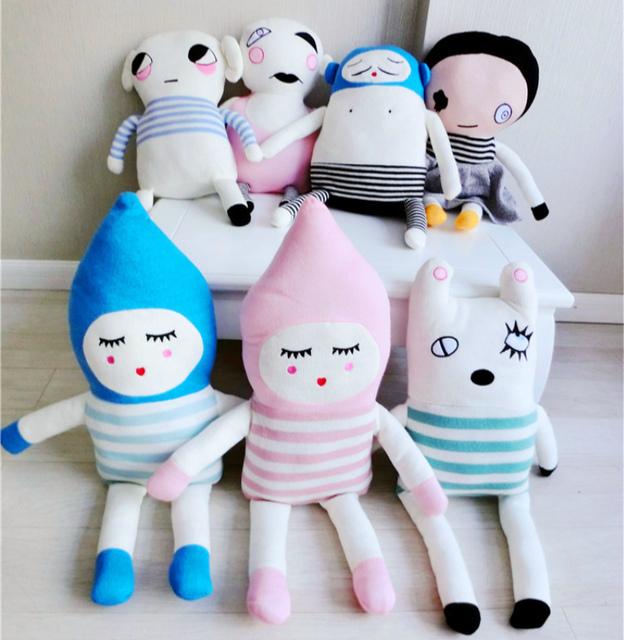 2016 Novo Bebê Travesseiro Lucky Boy Domingo Almofada de Crochê Bebê brinquedo Do Carro Travesseiro Crianças Travesseiro de Viagem Da Criança Cama infantil Sono travesseiros
