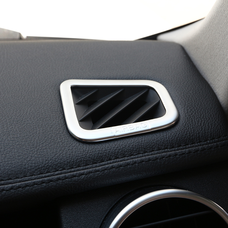 Chrome Interior Accessory Dashboard Air Outlet Sticker For
