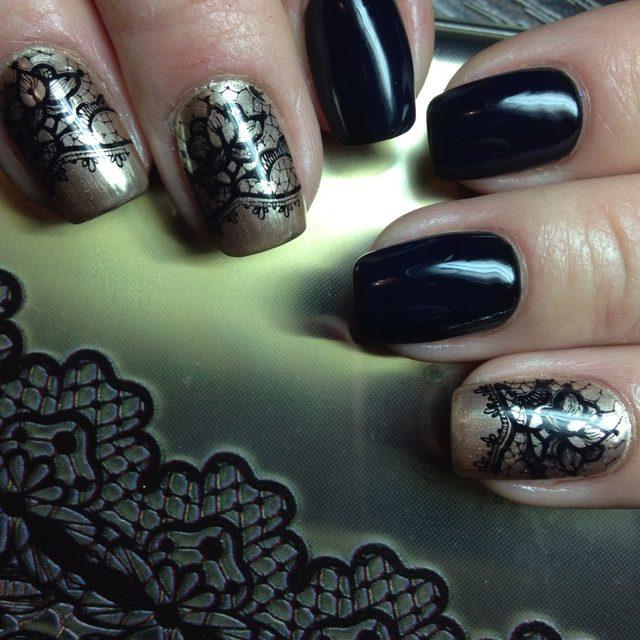 Tienda Online Moda Encaje diseño nail stamping Placas Manicura ...
