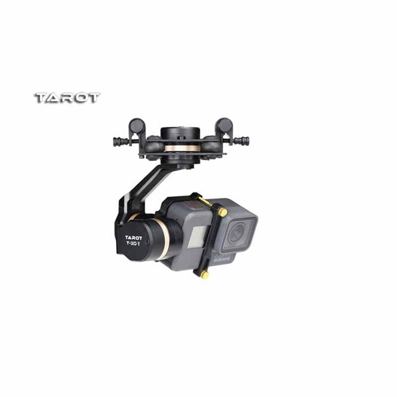 Tarot-rc haute qualité Tarot TL3T05 pour Gopro 3DIV métal 3 axes sans balai cardan PTZ pour Gopro Hero 5 pour FPV système Action Sport