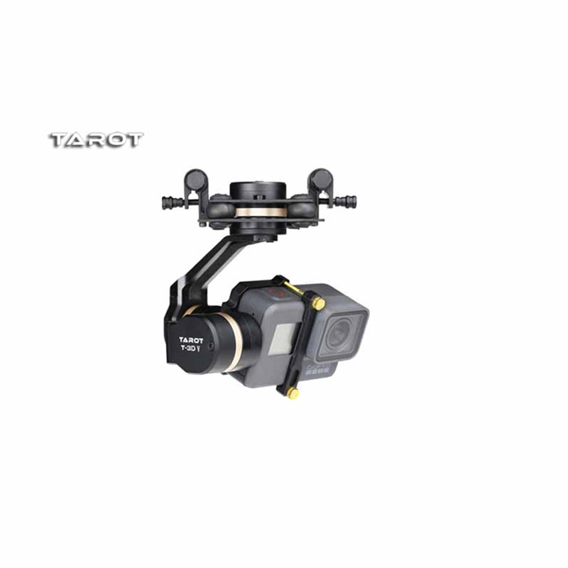 Tarot RC High Quality Tarot TL3T05 for Gopro 3DIV Metal 3 Axis Brushless Gimbal PTZ for Gopro Hero 5 for FPV System Action Sport