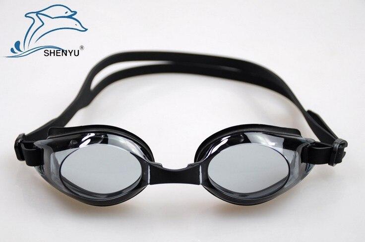 5af0953ee63 Free shipping SHENYU anti fog anti ultraviolet swimming goggles men and women  power coating swimming glasses adult goggles di Berenang Eyewear dari  Olahraga ...