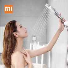 Xiaomi Mijia Diiib 3 โหมดมือถือชุดฝักบัวอาบน้ำ 360 องศา 120 มม.53 หลุมน้ำ PVC Matel ที่มีประสิทธิภาพนวด D5
