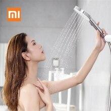 Xiaomi Mijia Diiib 3 tryby ręczna głowica prysznicowa 360 stopni 120mm 53 otwór wody z pcv Matel potężny prysznic z hydromasażem D5