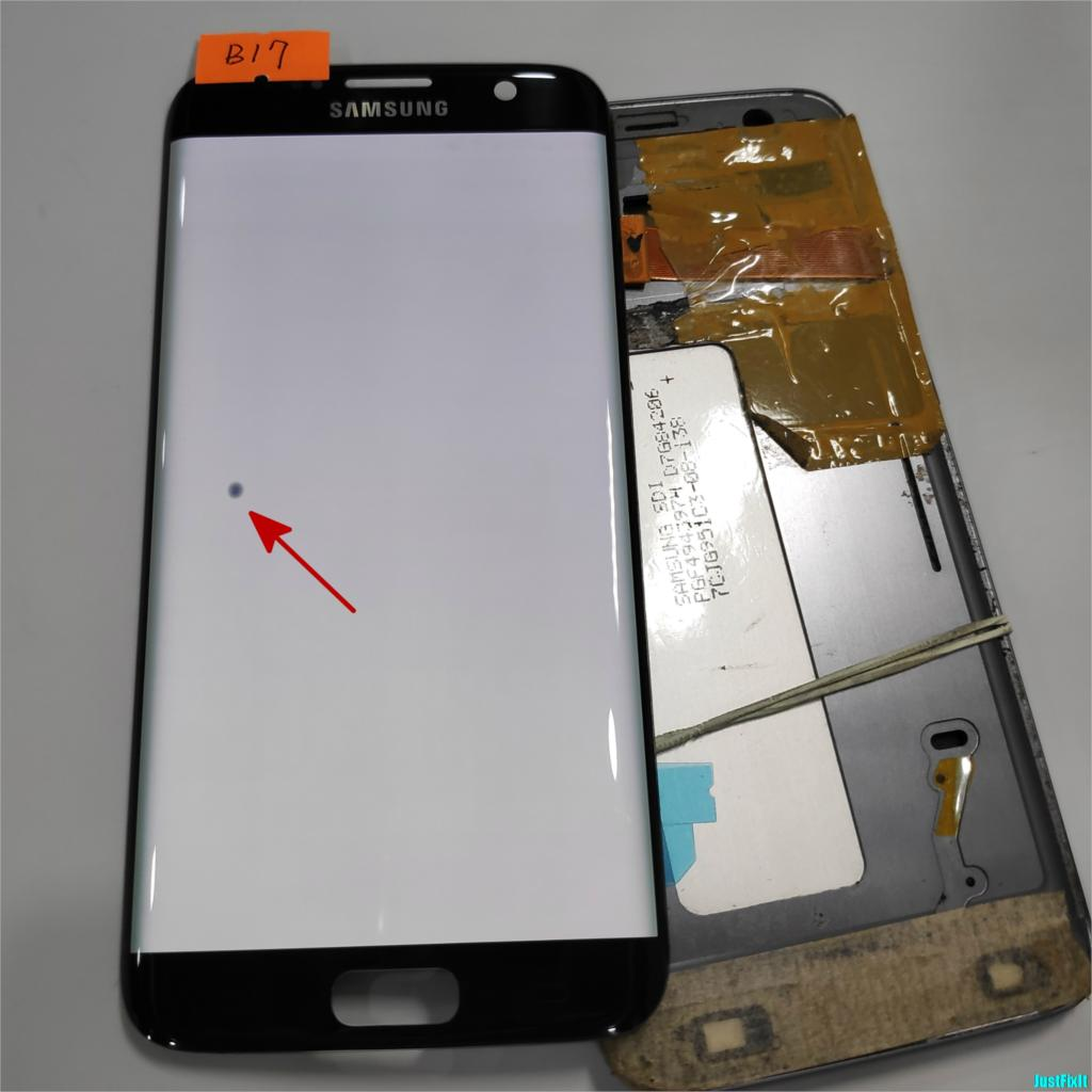 NO B17 For Samsung S7 Edge G935F G935A G935FD Defect Lcd Display With Touch Screen Digitizer
