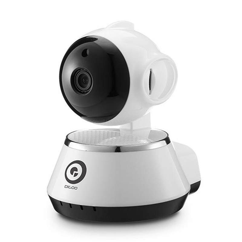 Digoo BB-M1 Wireless WiFi USB Baby Monitor Alarm Home Security IP Camera HD 720P Audio Onvif digoo dg bb 13 mw 9 99ft 3 meter long micro usb durable charging power cable line for ip camera device
