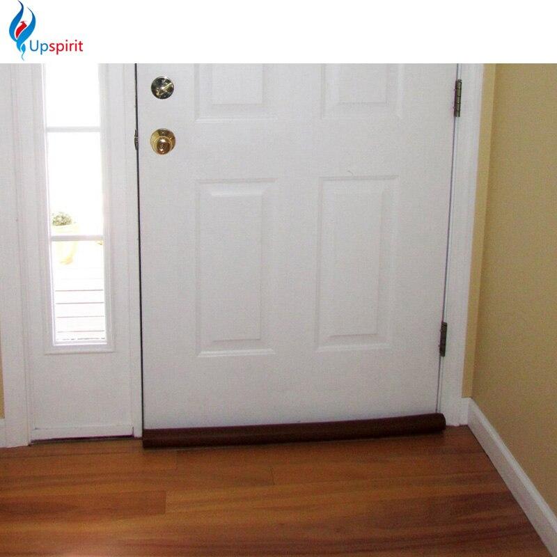 New Coming Brown Guard Stopper Twin Door Draft Dodger Energy Saving Protector Window Protector Doorstop Decor Useful & Door Drafts Reviews - Online Shopping Door Drafts Reviews on ... Pezcame.Com