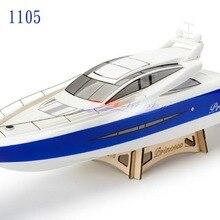 Принцесса электрический бесщеточный RC лодка стекловолокно с 3650 KV1500 мотор с водяным охлаждением 120A/180A ESC(W/O радиосистема
