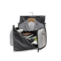 Travel Clothing Covers Storage Bags Shoes Dust Hanger Organizer Household Merchandises Portable Suit Coat Garment Accessories
