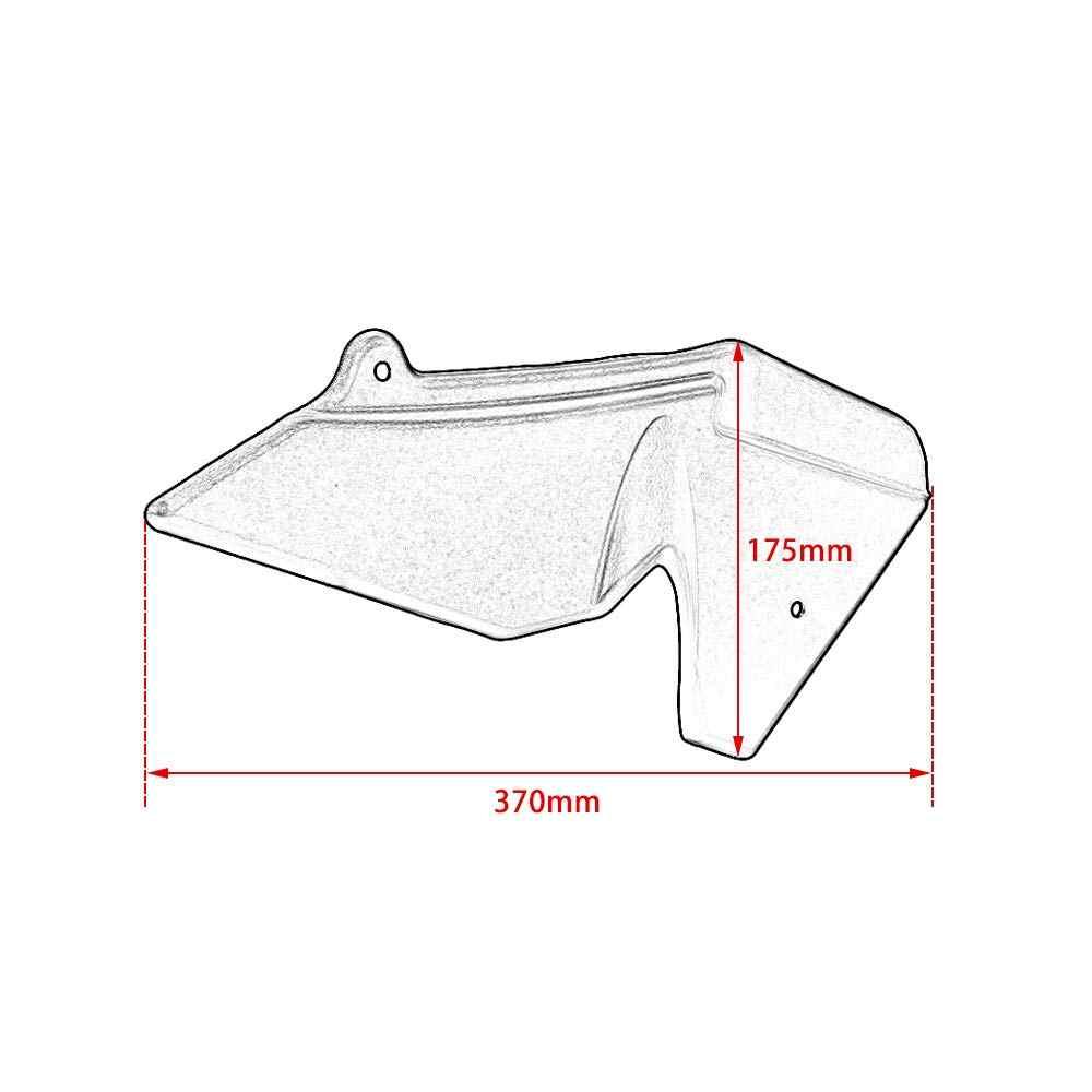 МОТОЦИКЛ ABS пластиковый радиатор боковой щиток Заполнение панели обтекатель Обложка протектор для KTM 1050 1090 1190 1290 супер приключение adv