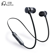 HuanYun Esporte Sem Fio Bluetooth Fone de Ouvido Neckband 4.2 Funcionamento do Fone De Ouvido Com Mic Graves fone de Ouvido Bluetooth Para o iphone Xiaomi Ipod