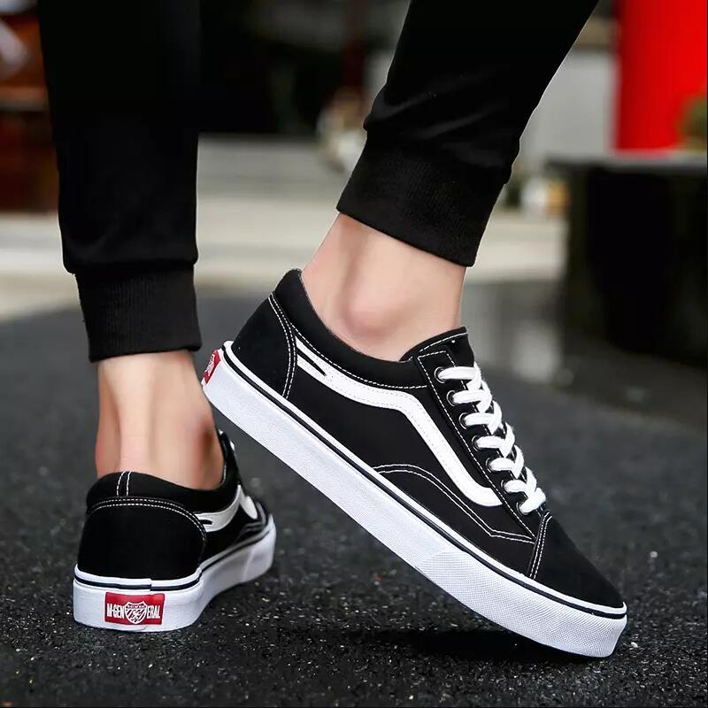 fc9f80768b6c4 2018 Spring Autumn New Trend Men s Vulcanized Shoe Men Casual Shoes  Breathable Sneakers Lace-up Canvas Shoes Men s Low Shoe – Thanks Australia