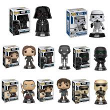 FUNKO POP Star Wars figure toys Darth Vader Luke Skywalker Leia Action Figure Toys for Friend Birthday Gift Collection For Model disney star wars darth vader 28cm action figure posture model anime decoration collection figurine toys model for children gift