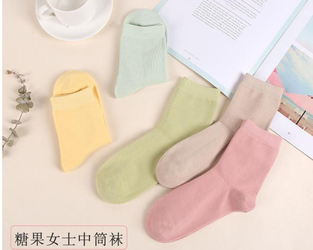 NEW 2018 WOMEN Socks Soft Cotton Socks WOMEN Warmers Meias AY401 25