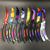 CS GO Knife Butterfly In Knife Training Knife Karambit Folding Knife Stainless Steel Butterfly Screwdriver Latest