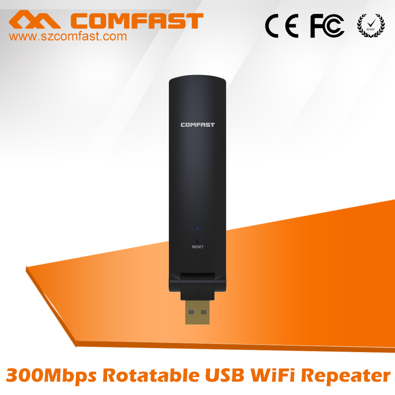 Shenzhen Four Seas Global Link Network Technology Co., Ltd. 300Mbps usb Wireless router Wifi Repeater Wifi Range Extender Signal Amplifier COMFAST CF-WR310N 2.4Ghz Wifi Booster Repetidor