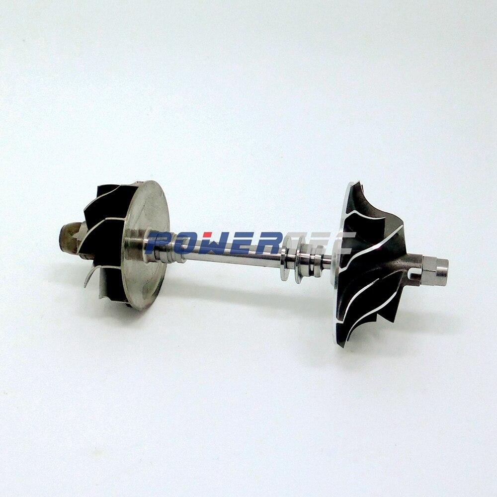 KKK turbo shaft wheel BV39 54399880030 54399880070 54399700030 8200405203 turbo rotor shaft&wheel for Renault Megane II 1.5 dCi