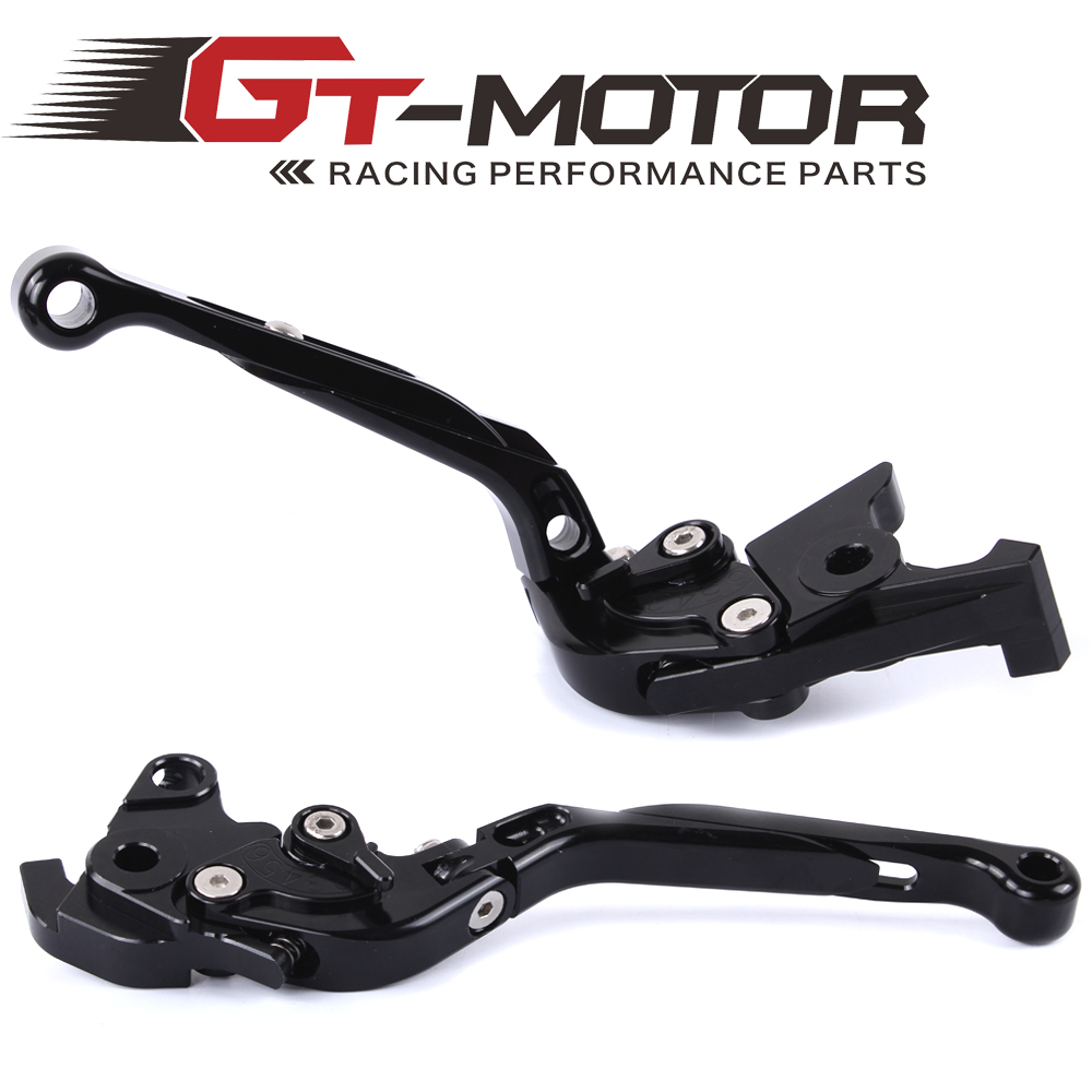 GT Motor - F-18  V-00 Adjustable Brake Clutch Levers For HONDA VTR1000F / FIRESTORM CBF1000 VFR750 VF750S SABRE VFR800/F gt motor f 18 v 00 adjustable brake clutch levers for honda vtr1000f firestorm cbf1000 vfr750 vf750s sabre vfr800 f