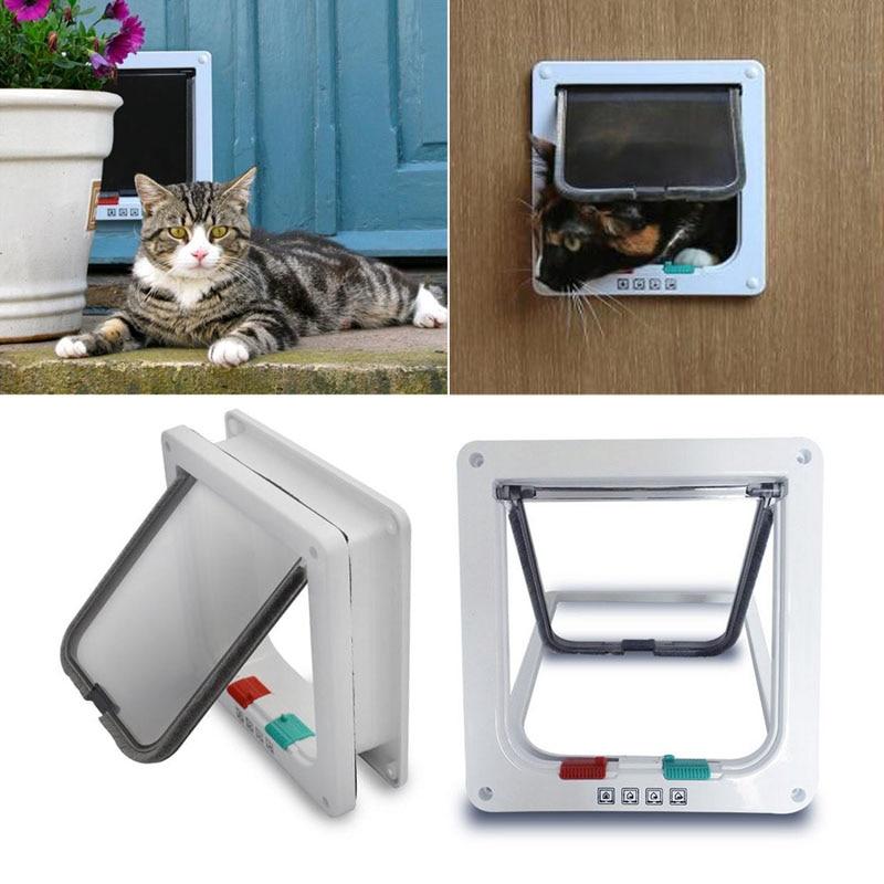 Aliexpress.com : Buy Controllable 4 Way Locking Indoor/Outdoor Pet Cats  Small Dogs Door Kit With Telescopic Frame Small /Medium From Reliable Door  Repair ...