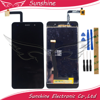 LCD Display For Fly Cirrus 13 FS 518 FS518 LCD Display Touch Panel Digitizer Screen Assembly Mobile Phone LCD Screens Cellphones & Telecommunications -