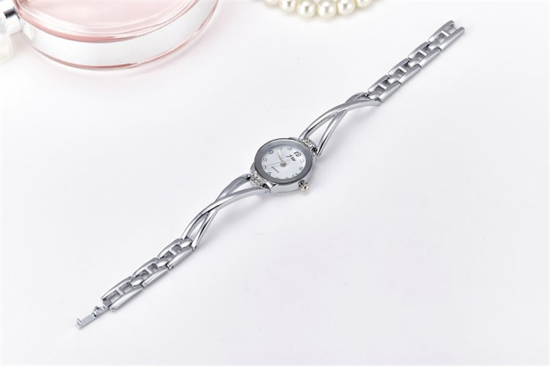 New Fashion Rhinestone Watches Women Luxury Brand Stainless Steel Bracelet watches Ladies Quartz Dress Watches reloj mujer Clock 32