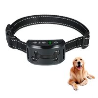 Anti Bark Device Dog Training Collar Rechargeable Anti Barking Collar with Beep/Vibration/Harmless Shock Modes for S M L Dogs