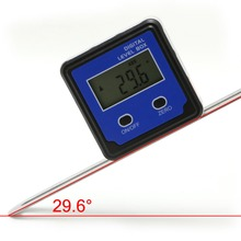 Digital Protractor Inclinometer Level Box Angle Finder Bevel w/Magnet Base Teter Tools