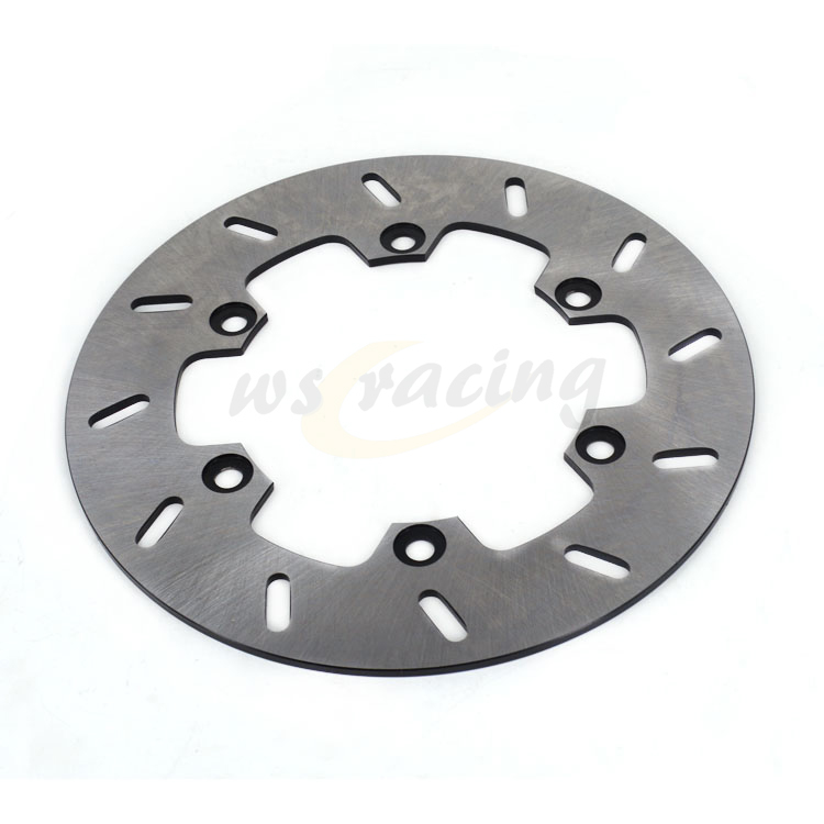 цена на Outer Diameter 220MM Stainless Steel Rear Brake Disc Rotor For YAMAHA TTR250 WR200 WR250 WR500 YZ125 YZ250 YZ400 YZF-R1 YZF-R6